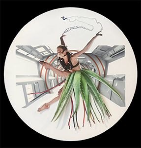Margaret Hart, Untitled, mixed media collage